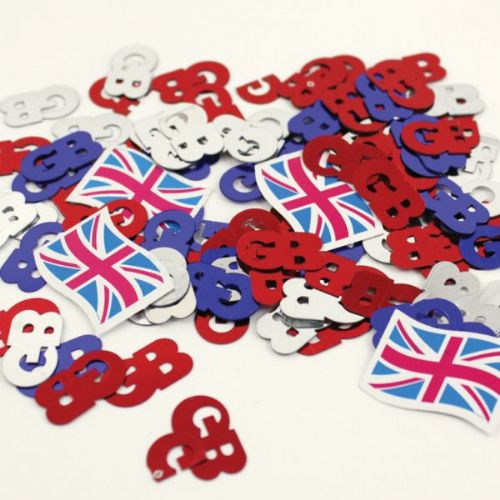 Great Britain Confetti - 14g Pack